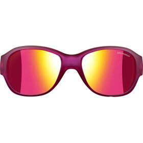 Julbo Lola Spectron 3CF Sunglasses Junior 6-10Y Matt Translucent Purple-Multilayer Pink